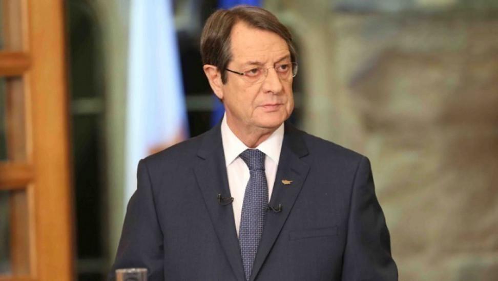 Αναστασιάδης: Δεν είναι δυνατόν η Τουρκία να συνεχίσει να λειτουργεί σαν να βρισκόμαστε στον 18ο αιώνα