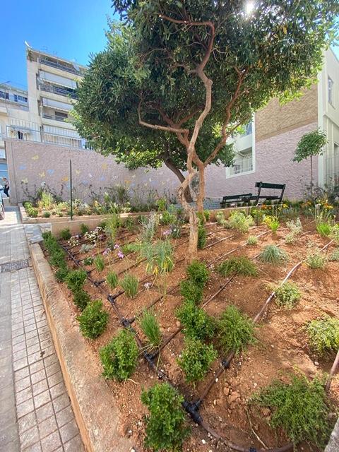 Δήμος Αθηναίων: Ένα νέο πανέμορφο πάρκο-τσέπης (pocket park) στην Άνω Κυψέλη