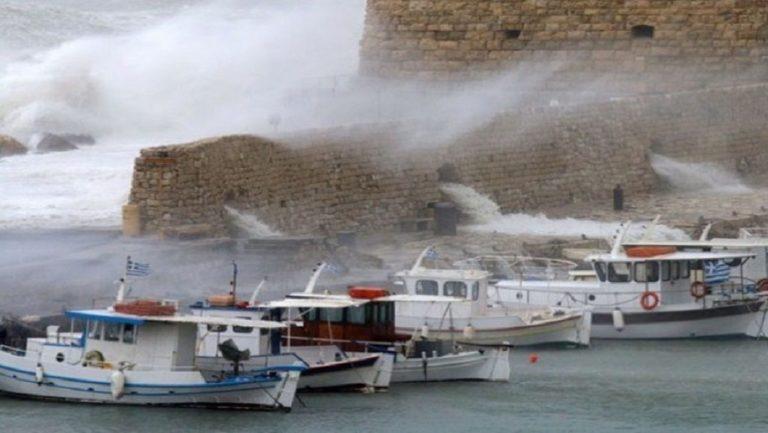 Για ισχυρούς ανέμους προειδοποιεί το Κεντρικό Λιμεναρχείο Ηρακλείου