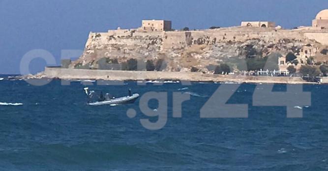 Κρήτη: Άμεση κινητοποίηση του Λιμενικού για λουόμενο (εικόνες)
