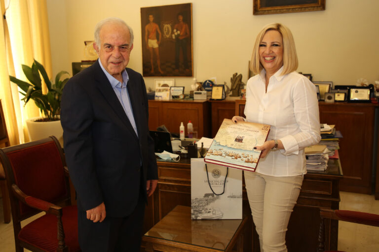 Με την Φώφη Γεννηματά συναντήθηκε ο Δήμαρχος Ηρακλείου