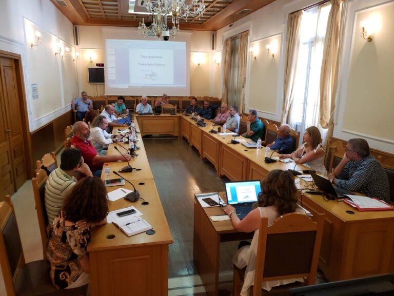 Συνάντηση της Ομάδας Εργασίας AREPO στην Περιφέρεια Κρήτης