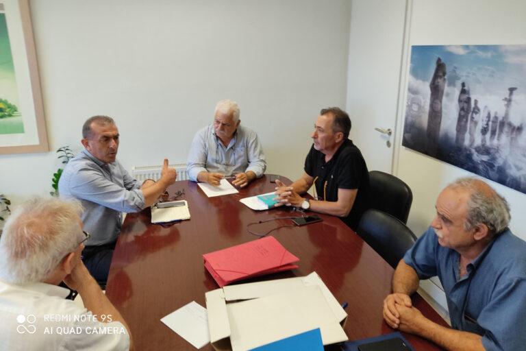 Συνάντηση Βαρδάκη – Σταυρακάκη για τα προβλήματα που αντιμετωπίζει ο Δήμος Βιάννου