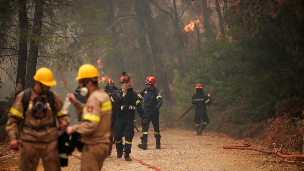 Τις 47 άγγιξαν οι πυρκαγιές που εκδηλώθηκαν το τελευταίο 24ωρο σε όλη την Ελλάδα