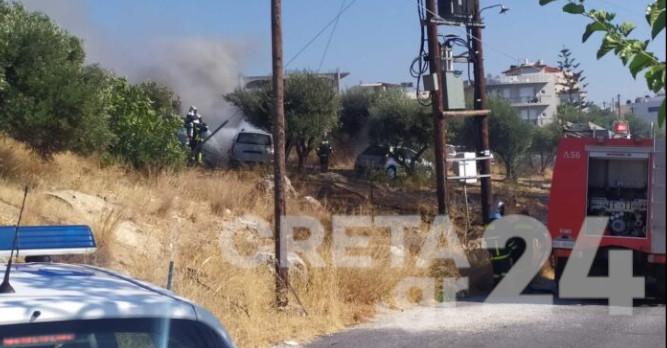 Το δίκτυο ηλεκτροδότησης πίσω από δύο πυρκαγιές στην Κρήτη(;)