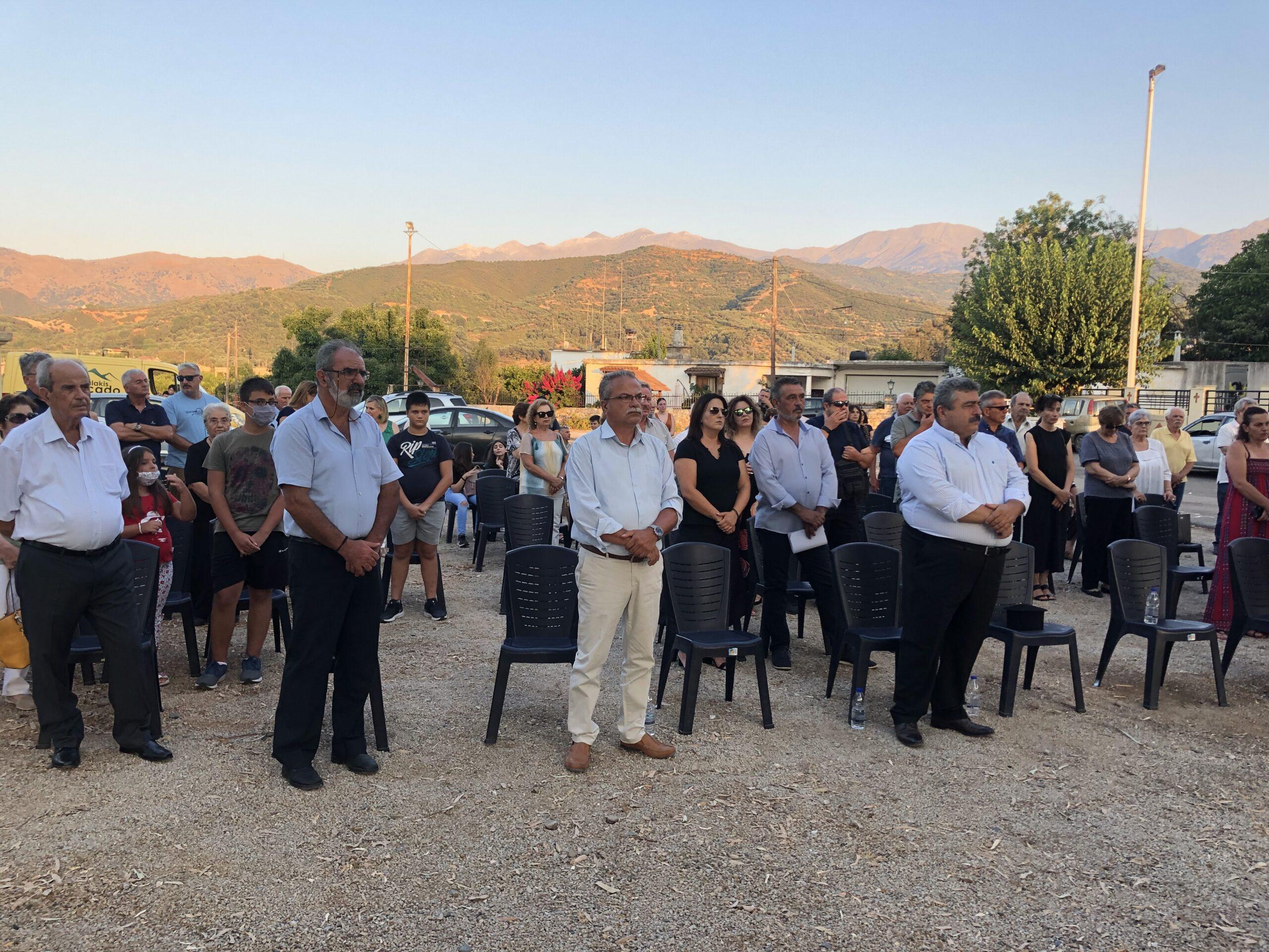 Εκδηλώσεις τιμής και μνήμης από το Δήμο Πλατανιά