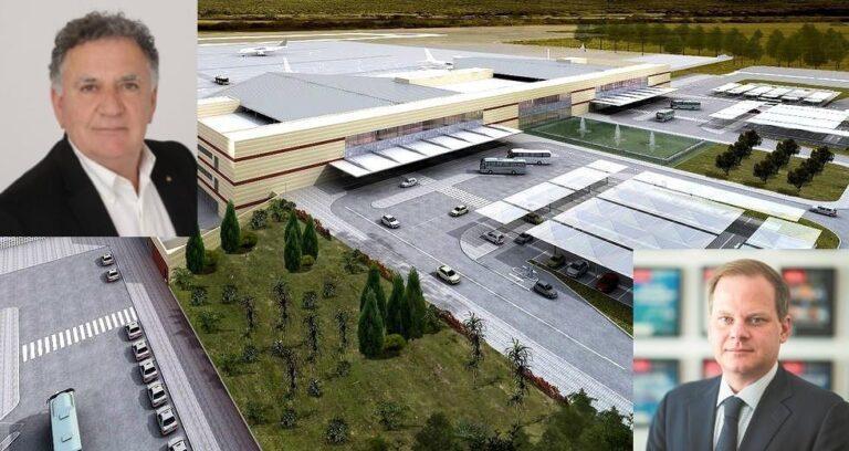 Επιστολή Φραγκάκη σε Καραμανλή για τον αποκλεισμό του δήμου από το ΔΣ της εταιρείας διαχείρισης του νέου αεροδρομίου