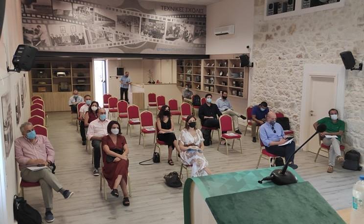 Ηράκλειο: Ξεκίνησε το πρώτο Θερινό Σχολείο Εταιρικής Κοινωνικής Ευθύνης (εικόνες)