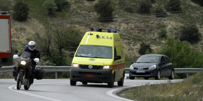 Κρήτη: Ένα άτομο στο νοσοκομείο μετά από τροχαίο