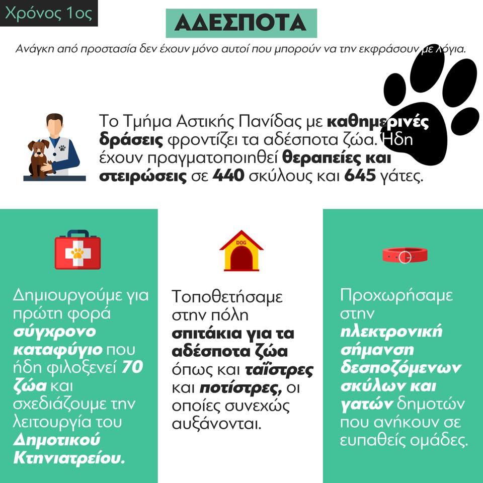Αδέσποτα στην Αθήνα: Ο ετήσιος απολογισμός έργου από τον Μπακογιάννη