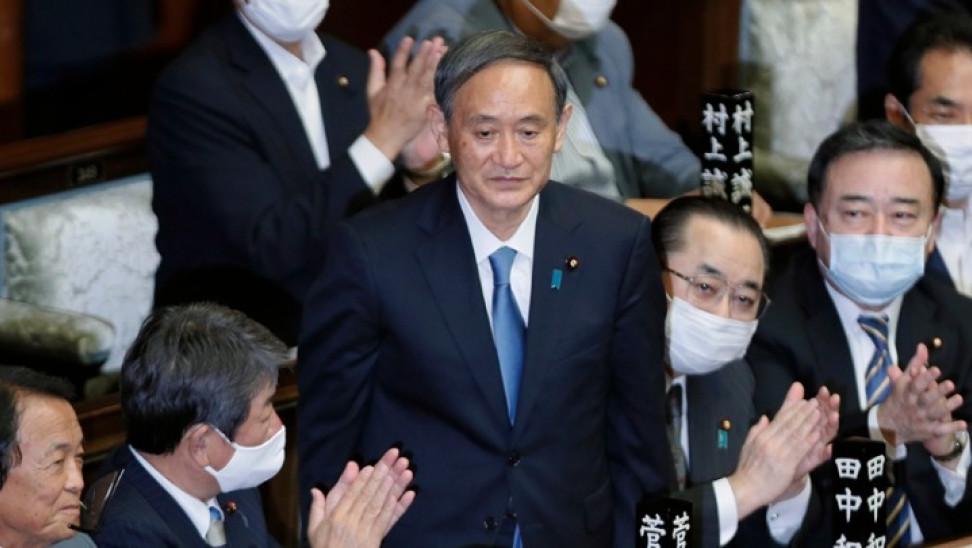 Ιαπωνία: Ο Γιοσιχίντε Σούγκα εξελέγη εξελέγη από τη βουλή νέος πρωθυπουργός