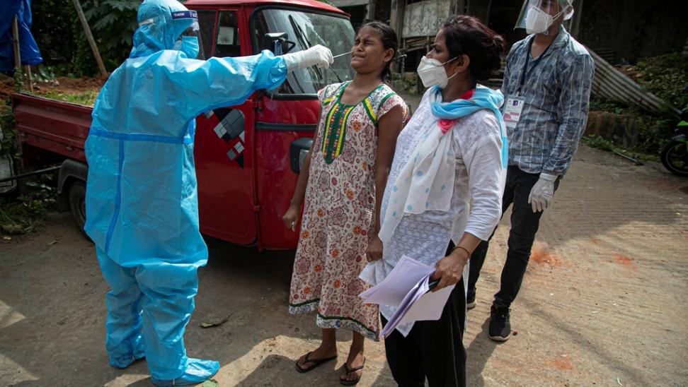 Ινδία-κορωνοϊός: 97.894 κρούσματα και 1.132 θάνατοι το τελευταίο 24ωρο