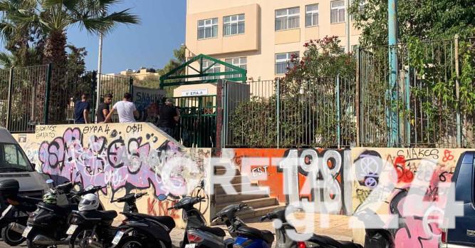 Κρήτη: «Λουκέτο» σε σχολεία – Καταλήψεις για τις μάσκες