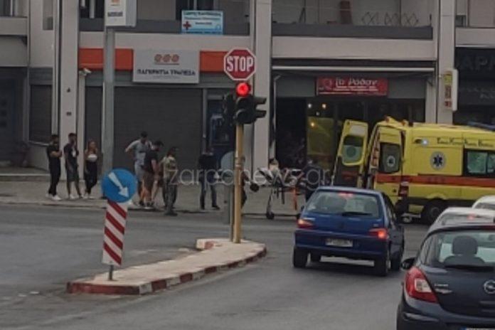 Κρήτη: Στο νοσοκομείο 36χρονος μετά από τροχαίο (εικόνες)