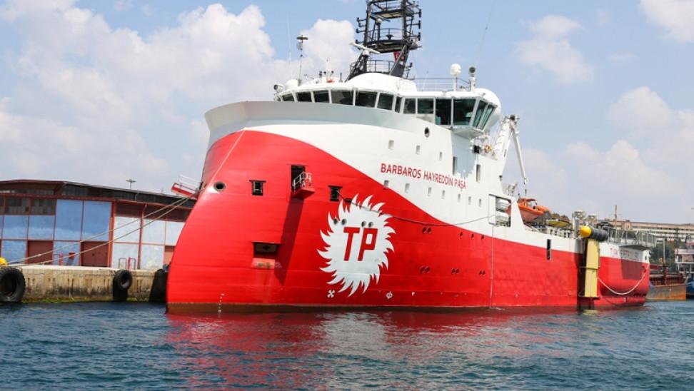 Νέα τουρκική Navtex για παράταση ερευνών του Barbaros στα ΝΑ της Κύπρου