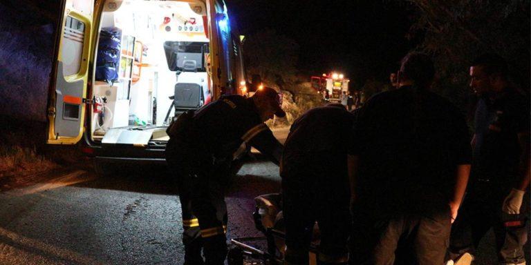 Νέο θανατηφόρο τροχαίο στην Κρήτη – Πετάχτηκε έξω από το αυτοκίνητο ο οδηγός