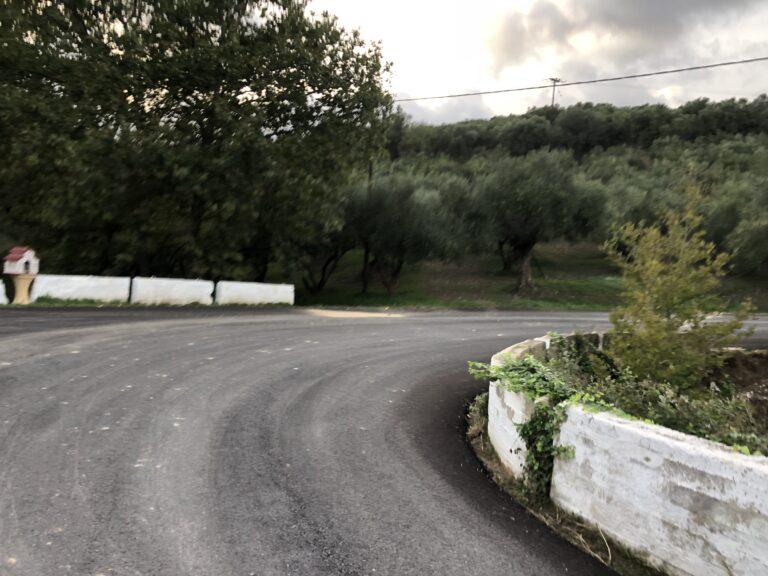 Ανακατασκευάστηκε δρόμος στον Δήμο Πλατανιά