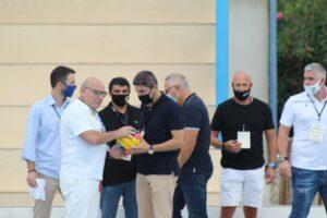 Εδωσαν συγχαρητήρια στον ΟΦΗ για την γιορτή της υδατοσφαίρισης στο Ηράκλειο (ΦΩΤΟΓΡΑΦΙΕΣ)