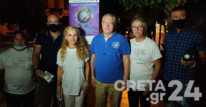 «Ευρωπαϊκή νύχτα χωρίς ατυχήματα» και στα Χανιά (εικόνες)