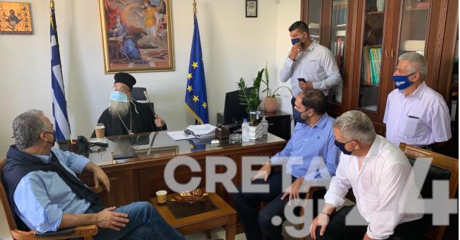 Κεφαλογιάννης: 18 εκ. ευρώ για έργα στον Δήμο Φαιστού (εικόνες)