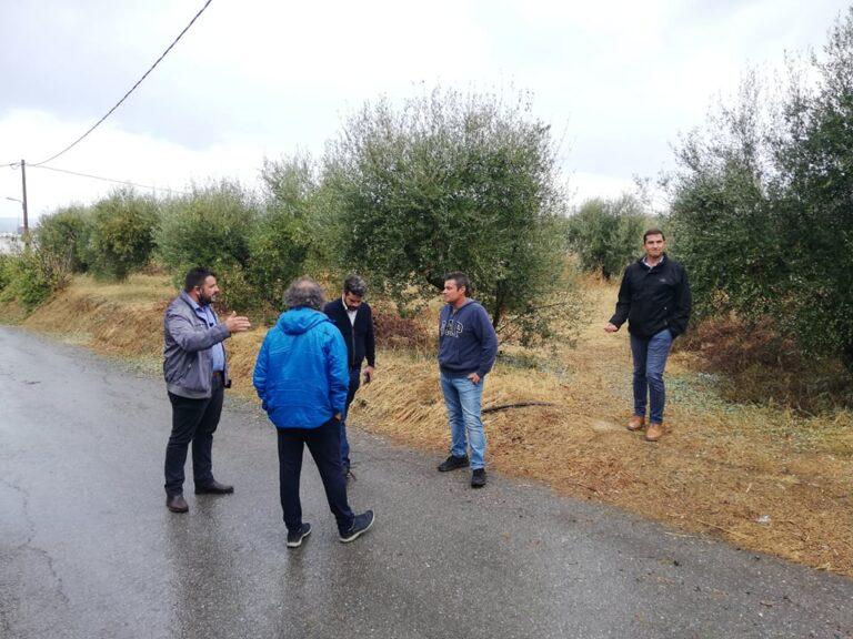 Κρήτη: Αυτοψία δημάρχου σε περιοχές που επλήγησαν από την κακοκαιρία (εικόνες)