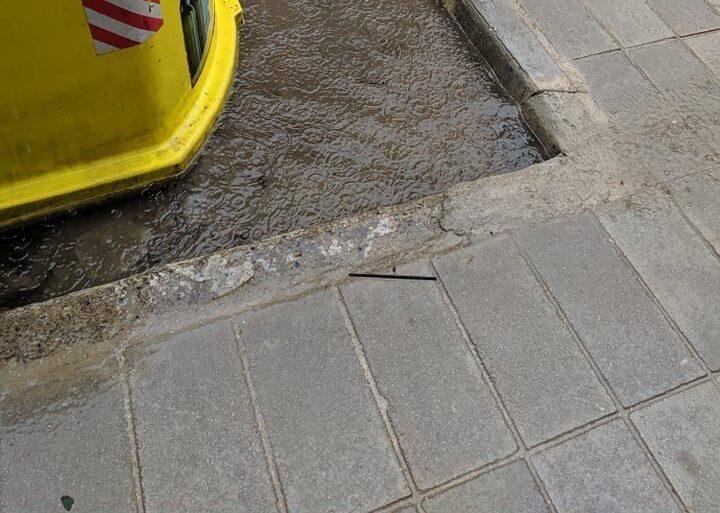 Κρήτη: Πλημμύρισαν κεντρικοί δρόμοι – Ανέβηκε η στάθμη του νερού