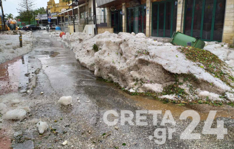 Κρήτη: Συνεχίζεται η κακοκαιρία – Έκκληση για περιορισμό των μετακινήσεων
