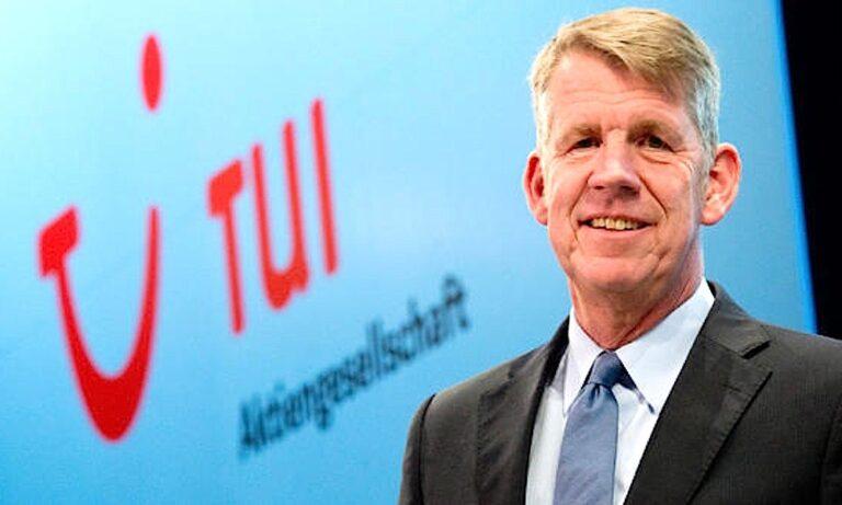 Ο επικεφαλής της TUI Φριτς Γιούσεν «ψήφισε» Κρήτη!