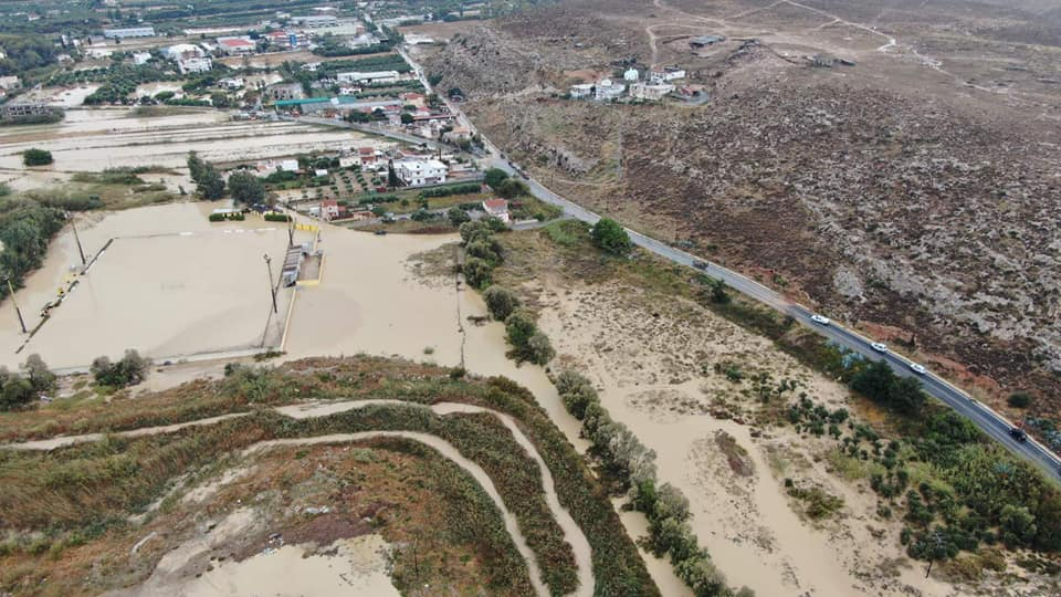 Ο Καρτερός από ψηλά μετά το πέρασμα της κακοκαιρίας – Εικόνες βιβλικής καταστροφής (βίντεο)