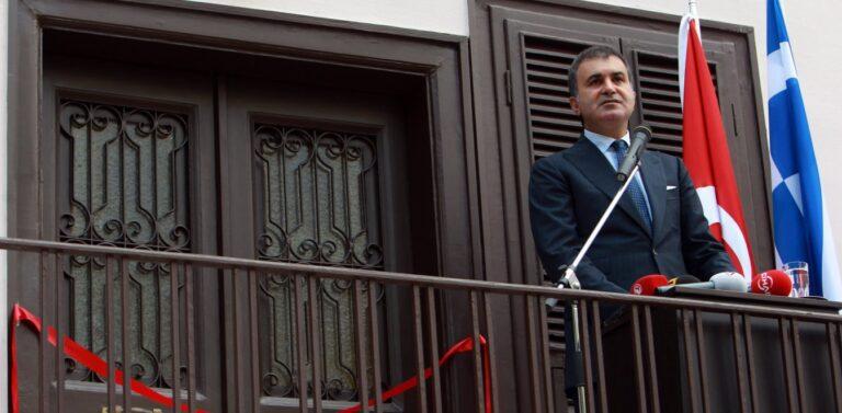 Ομέρ Τσελίκ: Παράνομη η Ελλάδα αν κάνει έρευνες στην Κρήτη