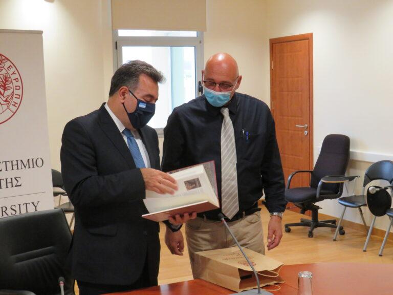 Στο Πανεπιστήμιο Κρήτης ο Υφυπουργός Τουρισμού