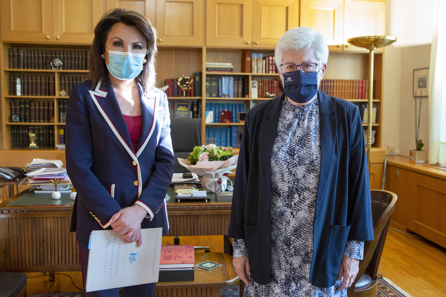 Συναντήσεις της Γιάννας Αγγελοπούλου με την ηγεσία της δικαιοσύνης