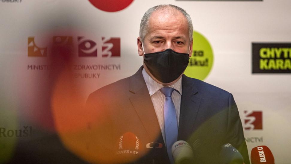 """""""Ξήλωσαν"""" τον Τσέχο υπουργό Υγείας: Πώς πιάστηκε να παραβιάζει τα μέτρα"""