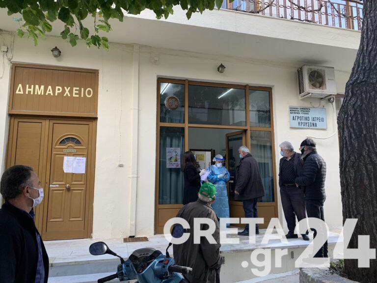Ηράκλειο: Τι έδειξαν τα τεστ στους κατοίκους του χωριού μετά τα κρούσματα