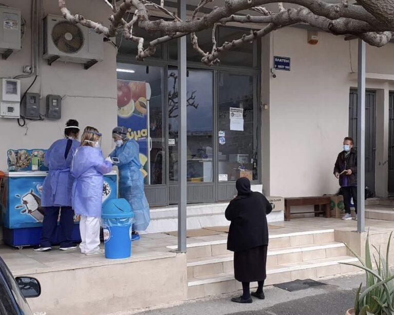 Κρήτη: Άμεση διεξαγωγή τεστ κορωνοϊού σε ηλικιωμένους