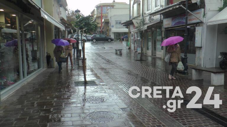 Κρήτη: Αψήφησαν την βροχή και πήγαν για ψώνια – «Δεν σηκώνουν άλλο lockdown οι επιχειρήσεις» (εικόνες)