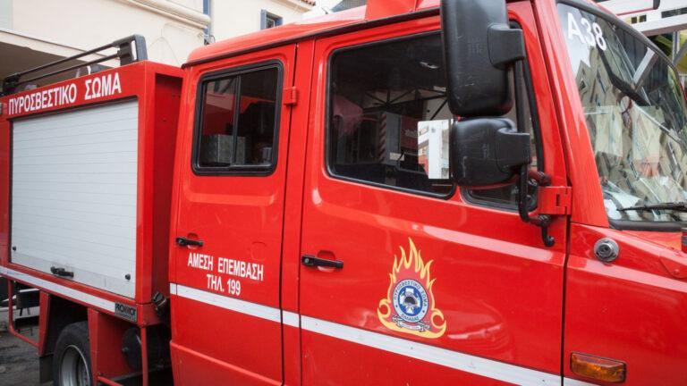 Κρήτη: Φωτιά σε βυτιοφόρο κινητοποίησε την Πυροσβεστική