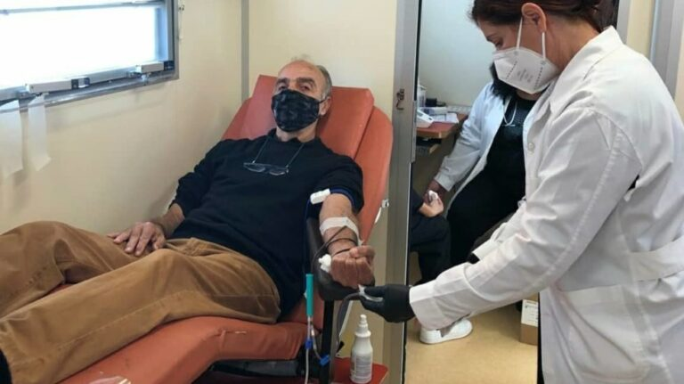 Πετυχημένη η εθελοντική αιμοδοσία που διοργάνωσαν οι δημοσιογράφοι του Ηρακλείου