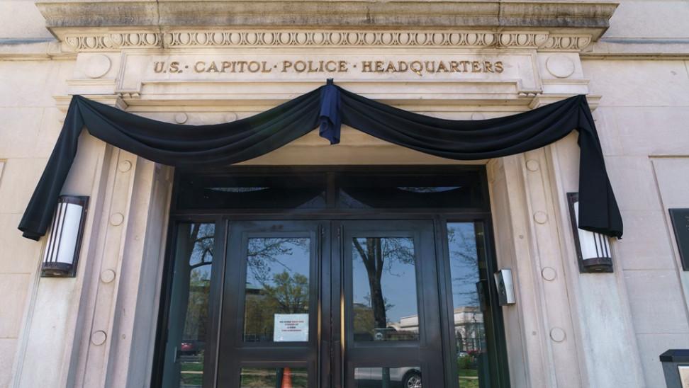 ΗΠΑ: Στη Ροτόντα του Καπιτωλίου θα ταφεί ο αστυνομικός που σκοτώθηκε από επίθεση οδηγού αυτοκινήτου