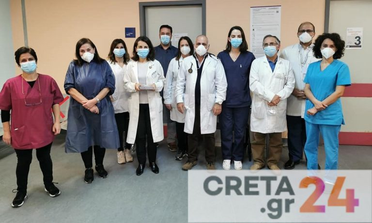 Κορωνοϊός: Νοσοκομείο της Κρήτης ξεπέρασε τους 10.000 εμβολιασμούς
