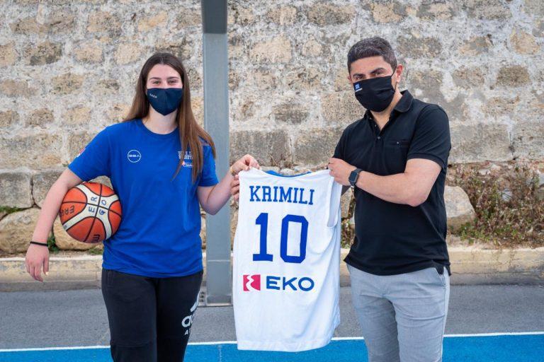 Λ. Αυγενάκης: Η Ιωάννα Κριμίλη είναι παράδειγμα για κάθε νέα και νέο αθλητή της χώρας μας