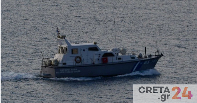 Περιπέτεια για ναύτη στην Κρήτη λόγω των ισχυρών ανέμων