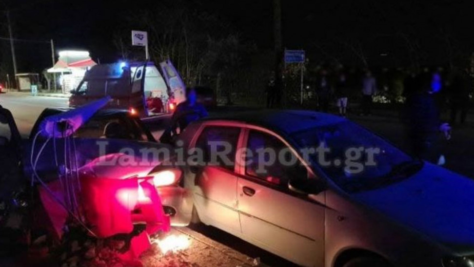 Τραγωδία στη Λαμία: Πέθανε μητέρα ενώ οδηγούσε - Και τα δυο παιδιά της στο αυτοκίνητο