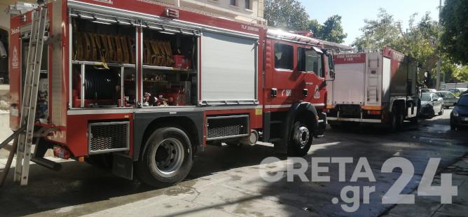 Κρήτη: Από πιθανό βραχύκλωμα ξεκίνησε η φωτιά στη Δημοτική Αγορά