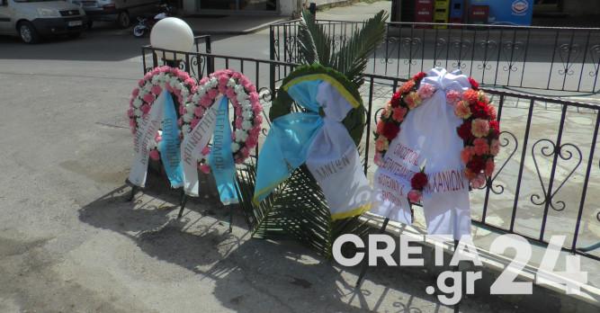 Κρήτη: Τίμησαν την Εργατική Πρωτομαγιά (εικόνες)